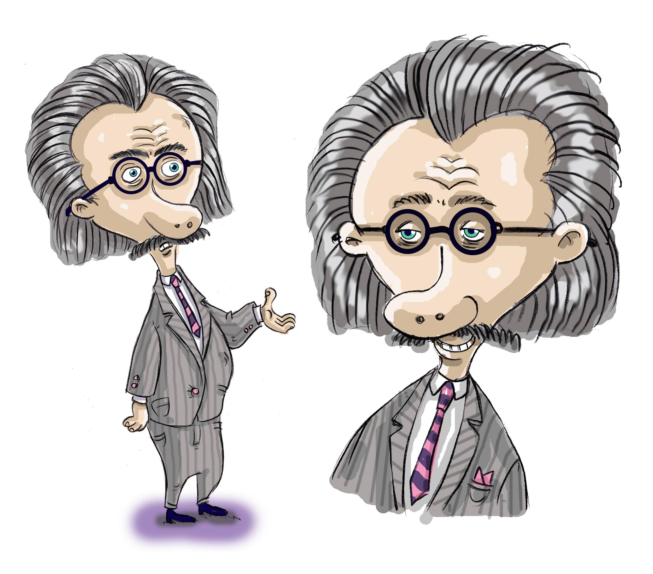 Einstein guy.