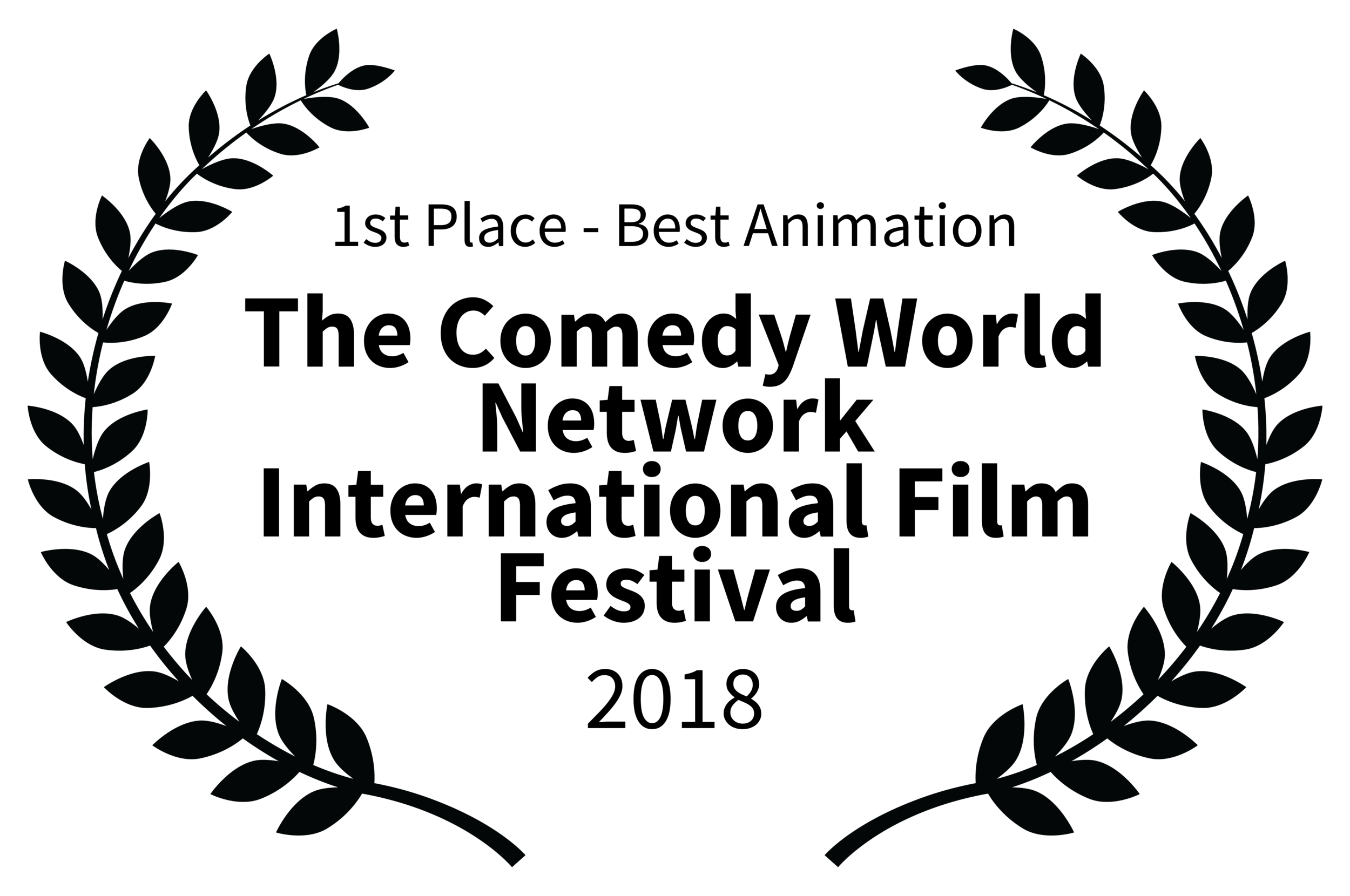 1stPlace-BestAnimation-TheComedyWorldNetworkInternationalFilmFestival-2018.png