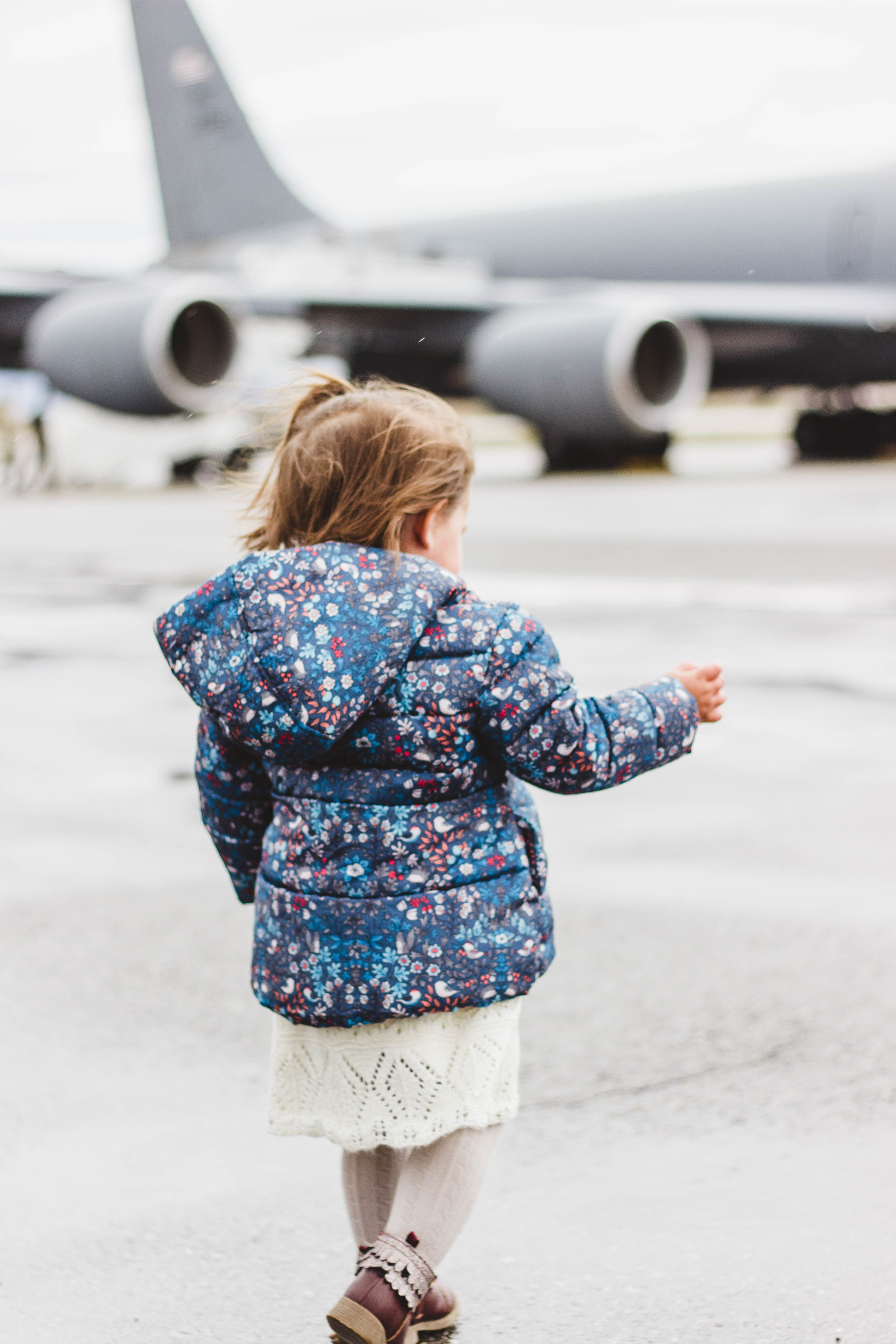 kc135 girl photo