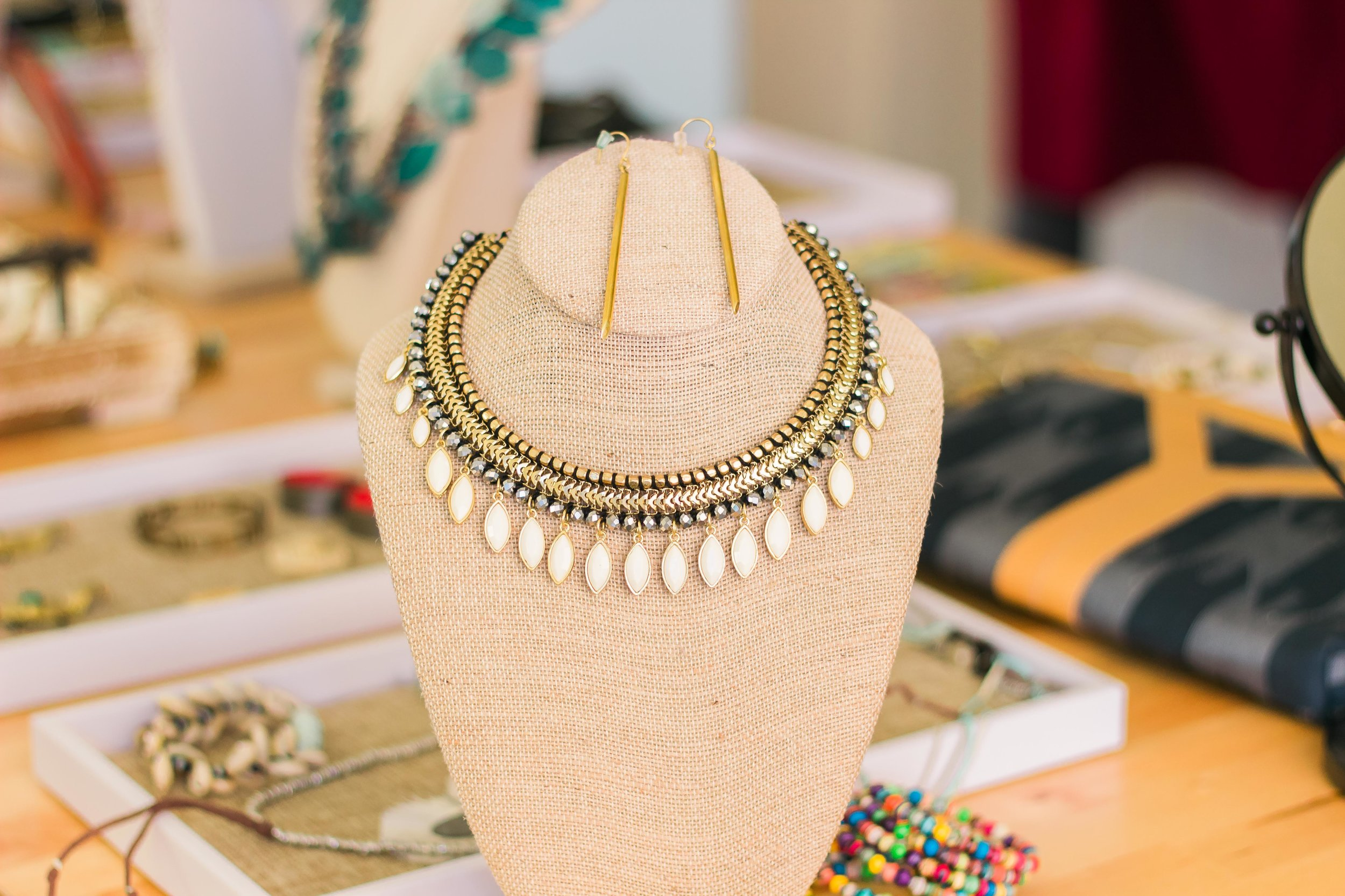 ethically made necklace