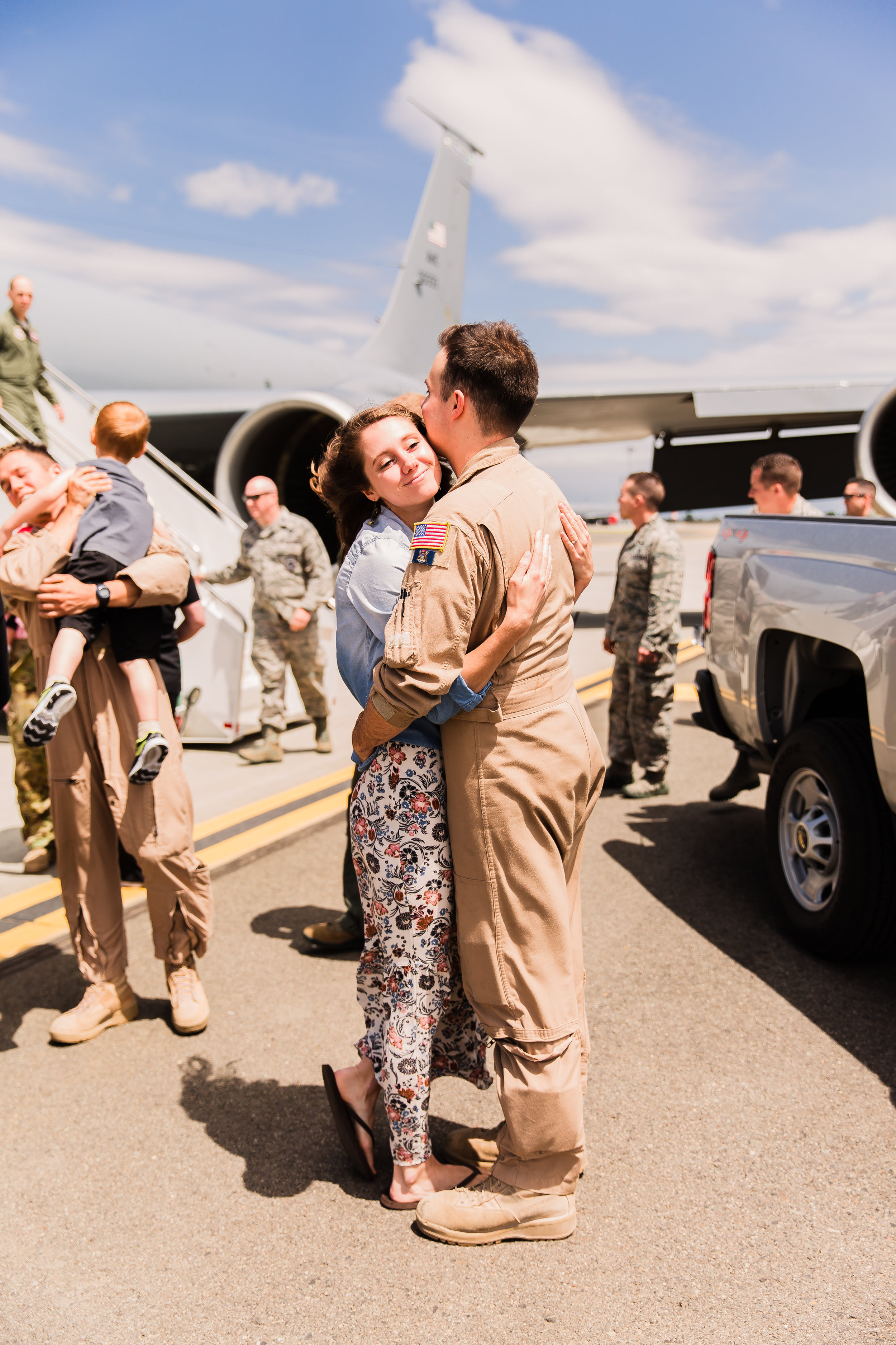Military Homecoming Welcome