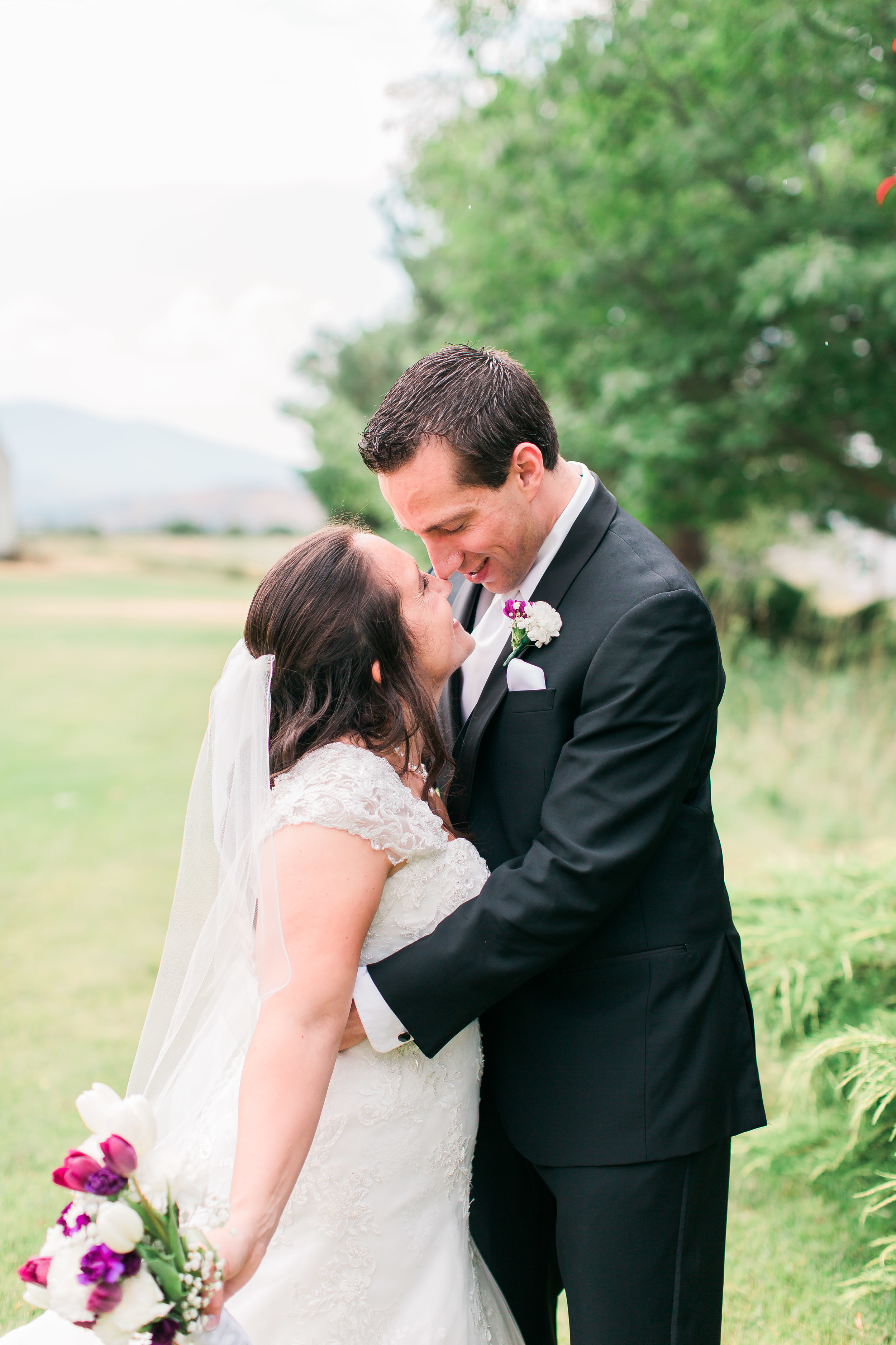 light and airy wedding photos