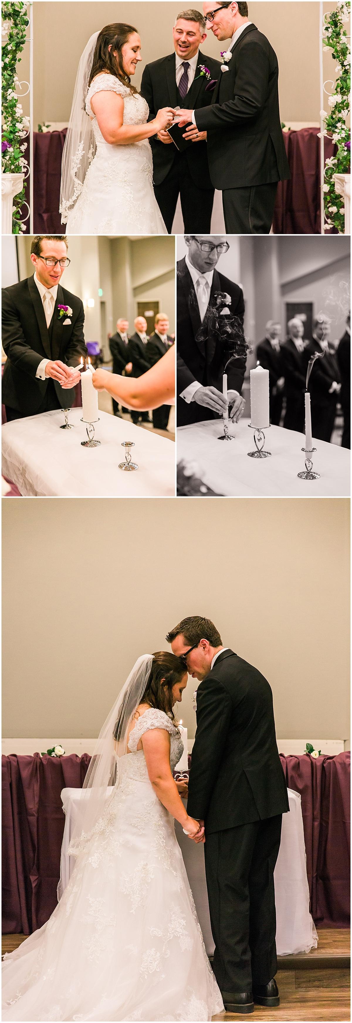 wedding unity candle ceremony