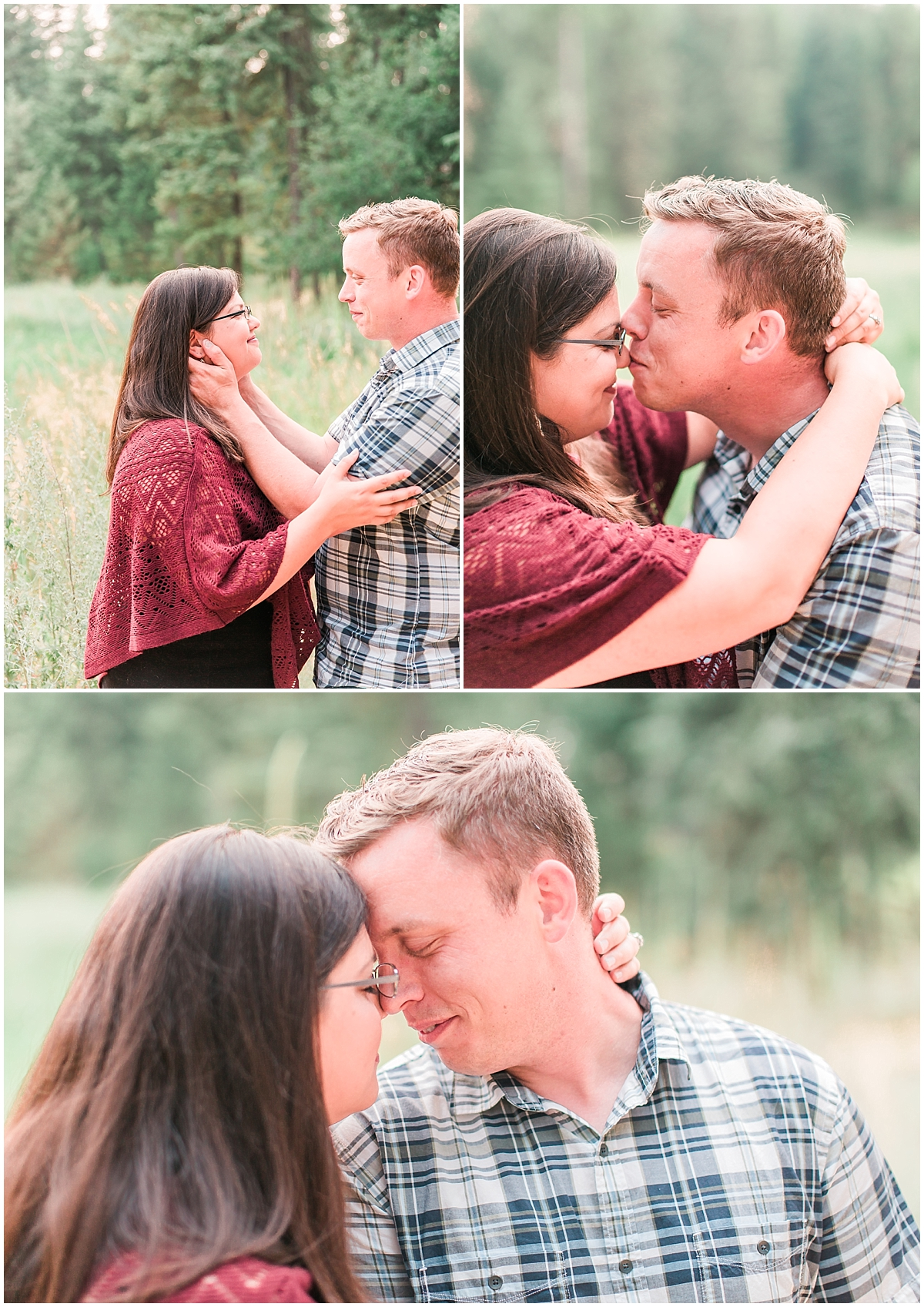 engagement couple poses