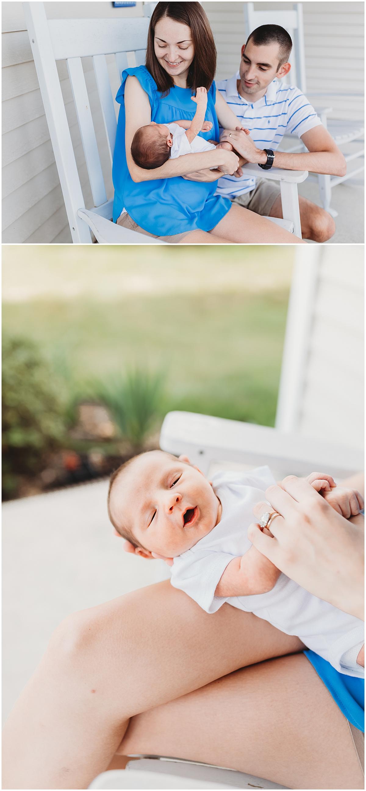 Lifestyle Newborn Photos