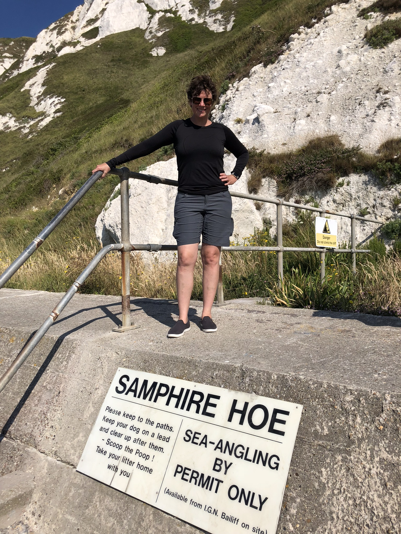 We found Samphire Hoe - my starting point - after a good deal of searching