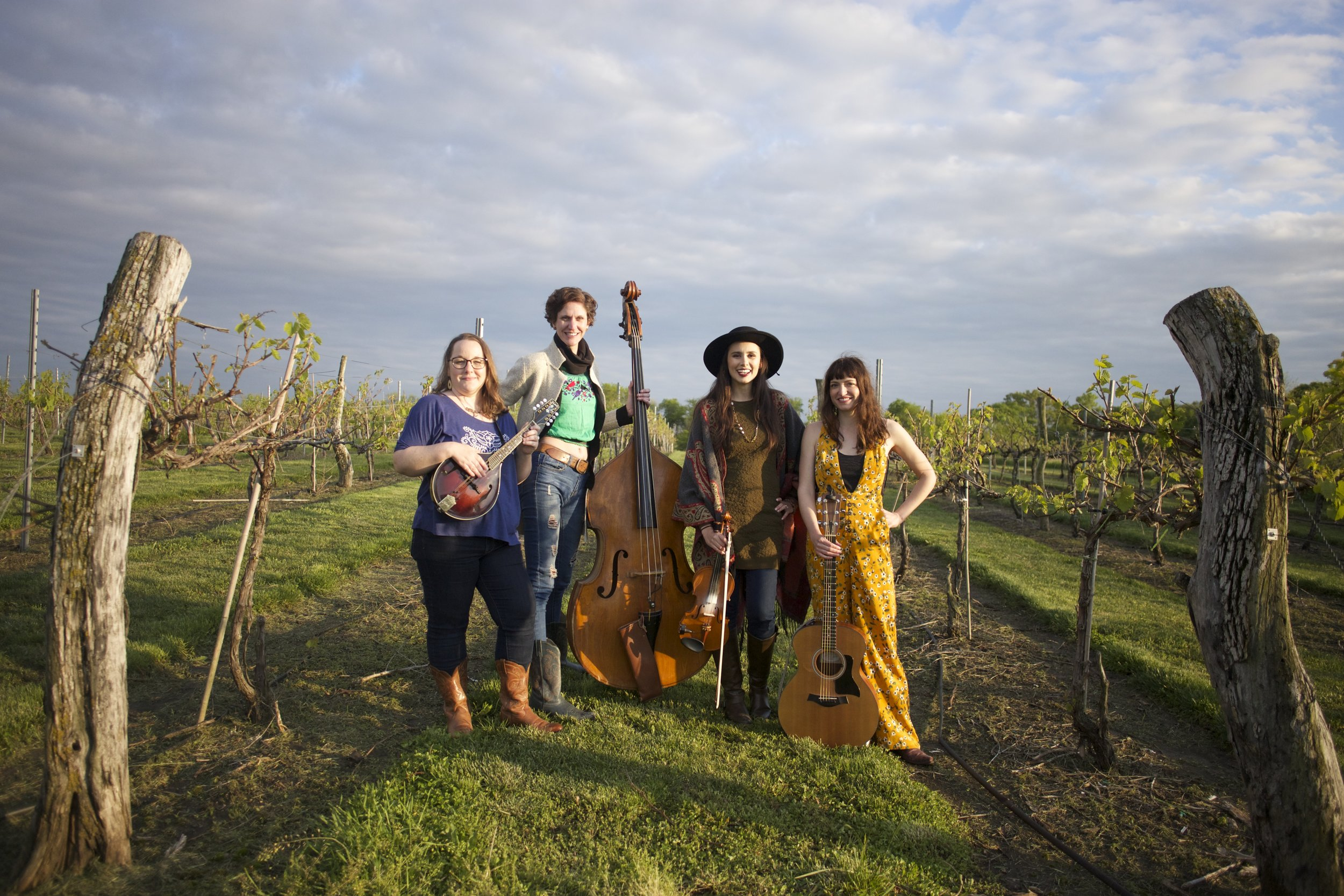 """""""Unfit Wives"""" photo by Ashley McCarty at Bluejacket Winery in Eudora, Kansas."""