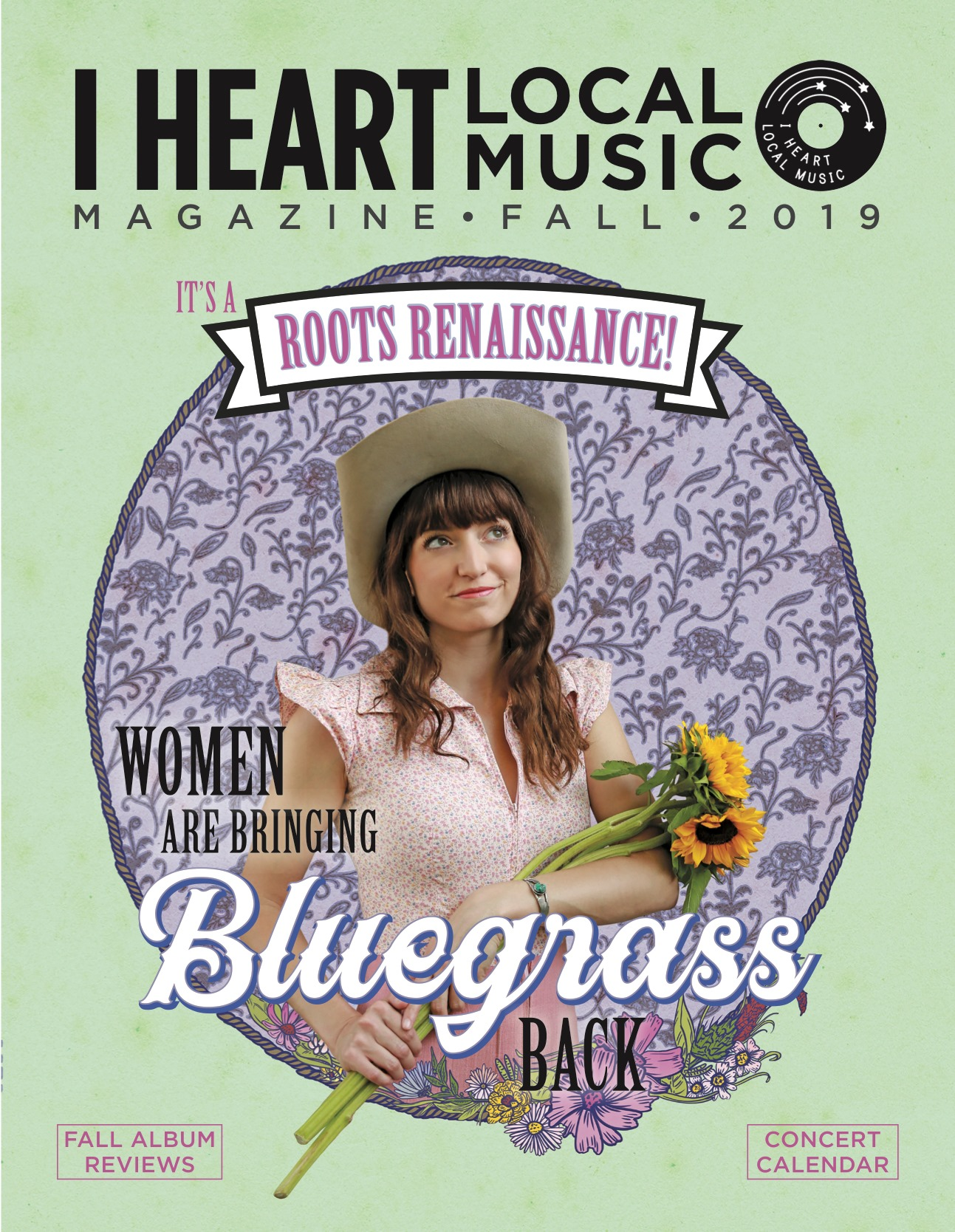 The Fall 2019 I Heart Local Music magazine features Jenna Rae on the cover and Unfit Wives on the inside! Magazine release show September 6 at Replay Lounge.