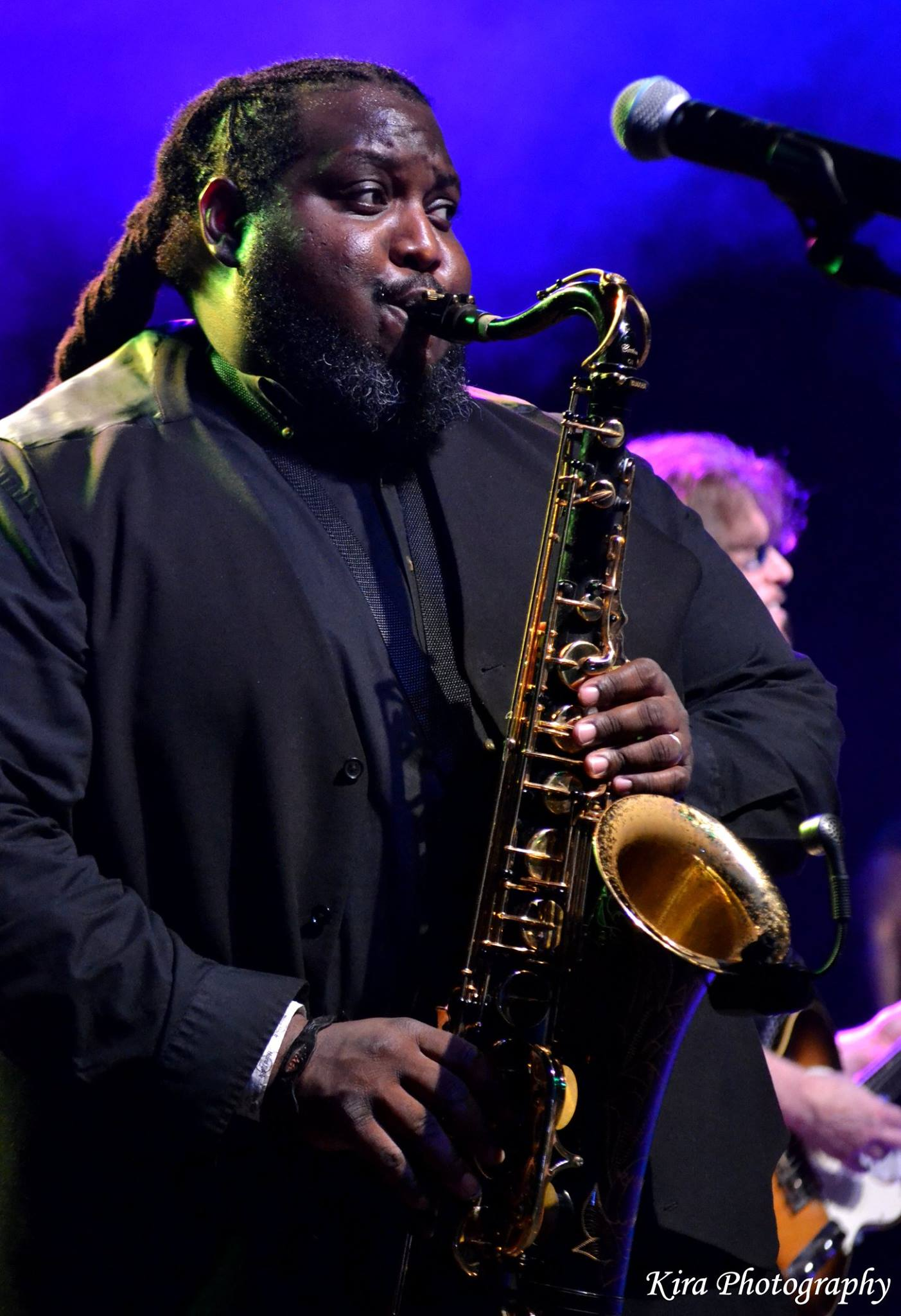 "The incredible John Harden as ""The Big Man"" - Clarence Clemons"