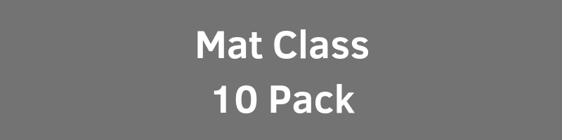 $160.00 - $16.00 per ClassIntimate Class Size (Max 10 per Class)Includes All Mat Based Fitness Classes1 Year Expiration