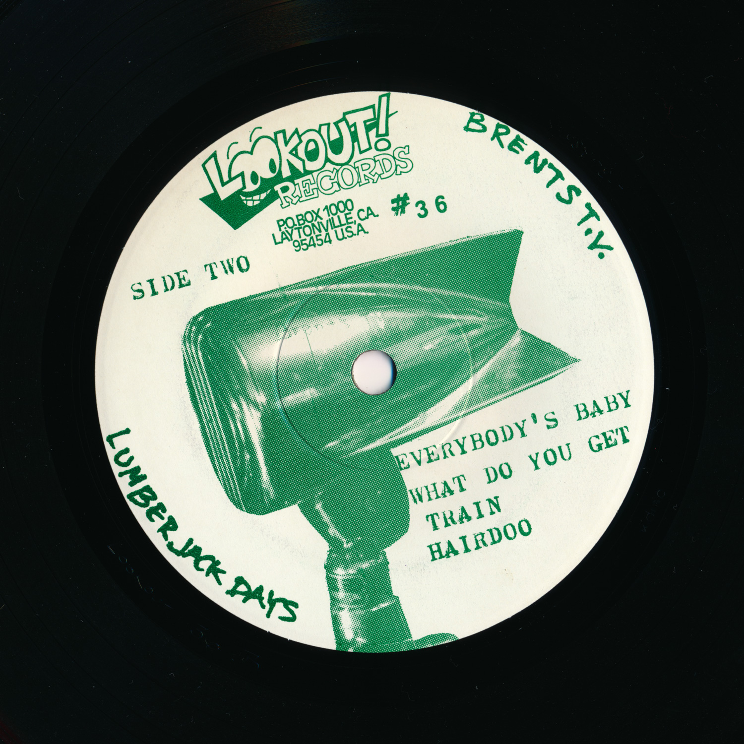 "Lumberjack Days 7"" label B"