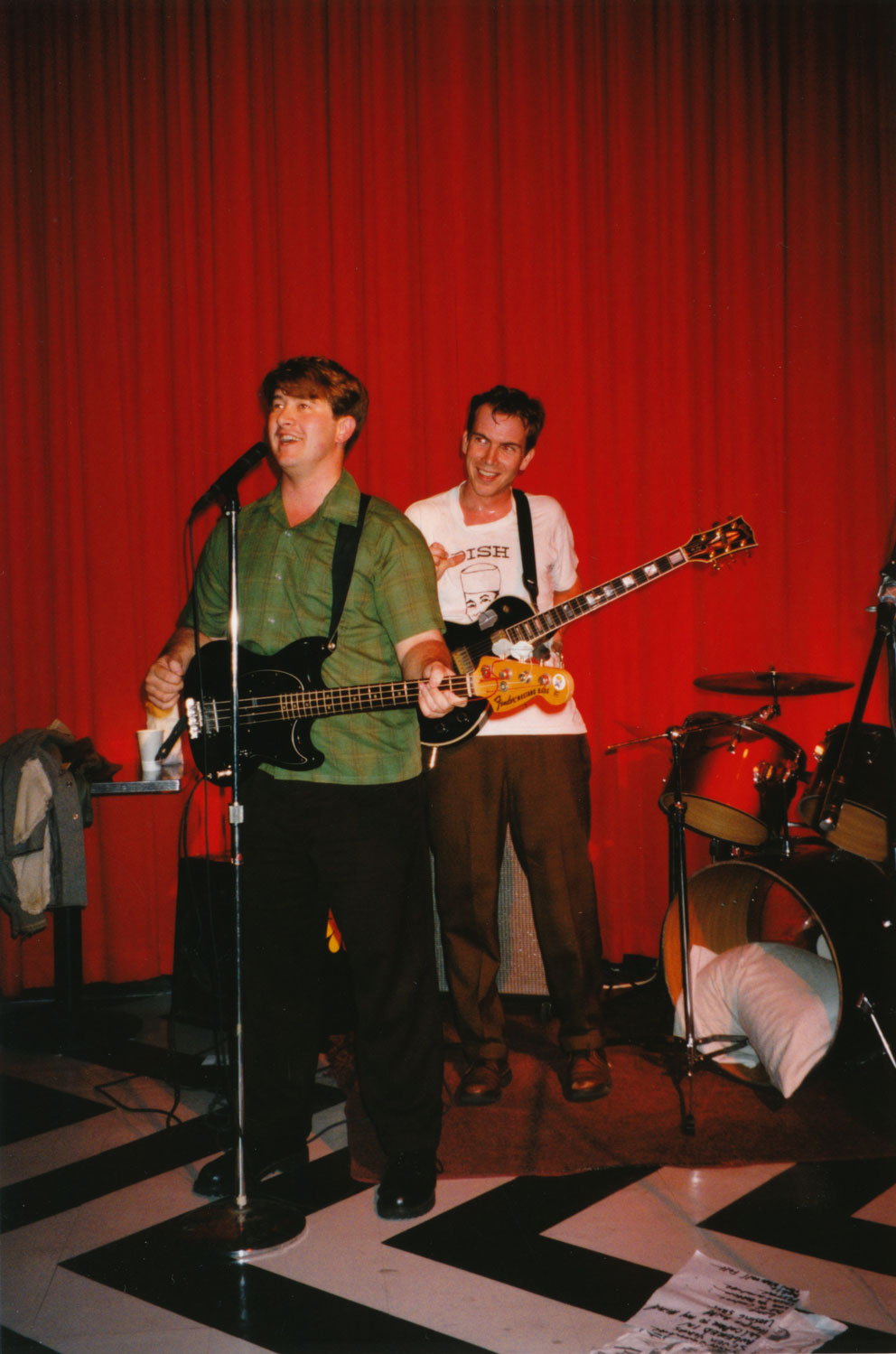 Openeing for Cub, October 12th, 199???, at Cafe This in Santa Rosa