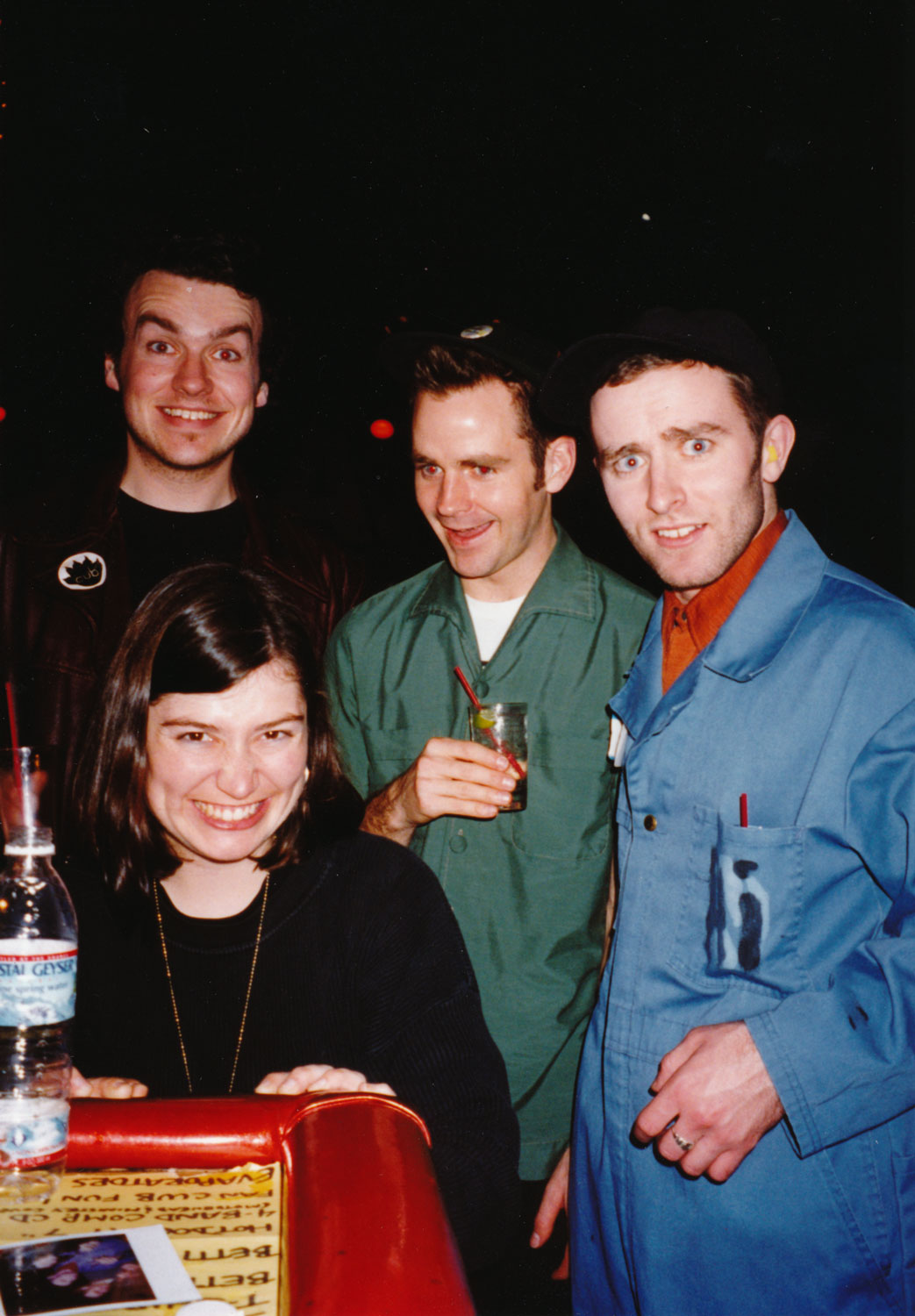 """Lisa Marr from Cub! David Carswell was playing drums for them (where was Neko?) and Grant was """"tour managing"""" while I was acting like an idiot."""