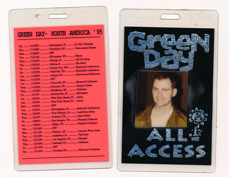 1995 Tour Pass