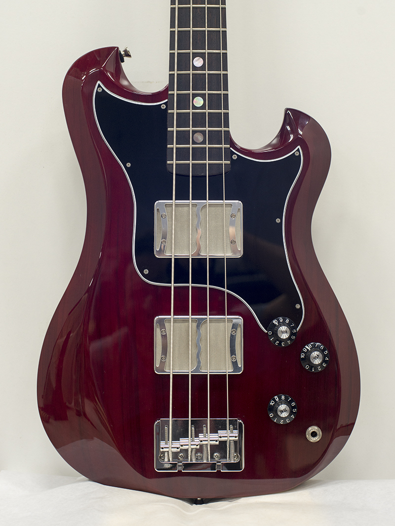 Ronin Songbird Bass finished in Wine Red