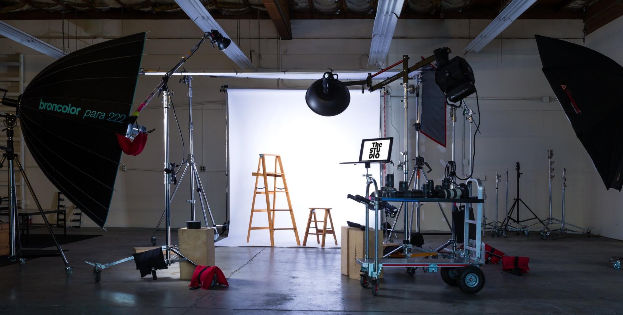 studio lighting photography