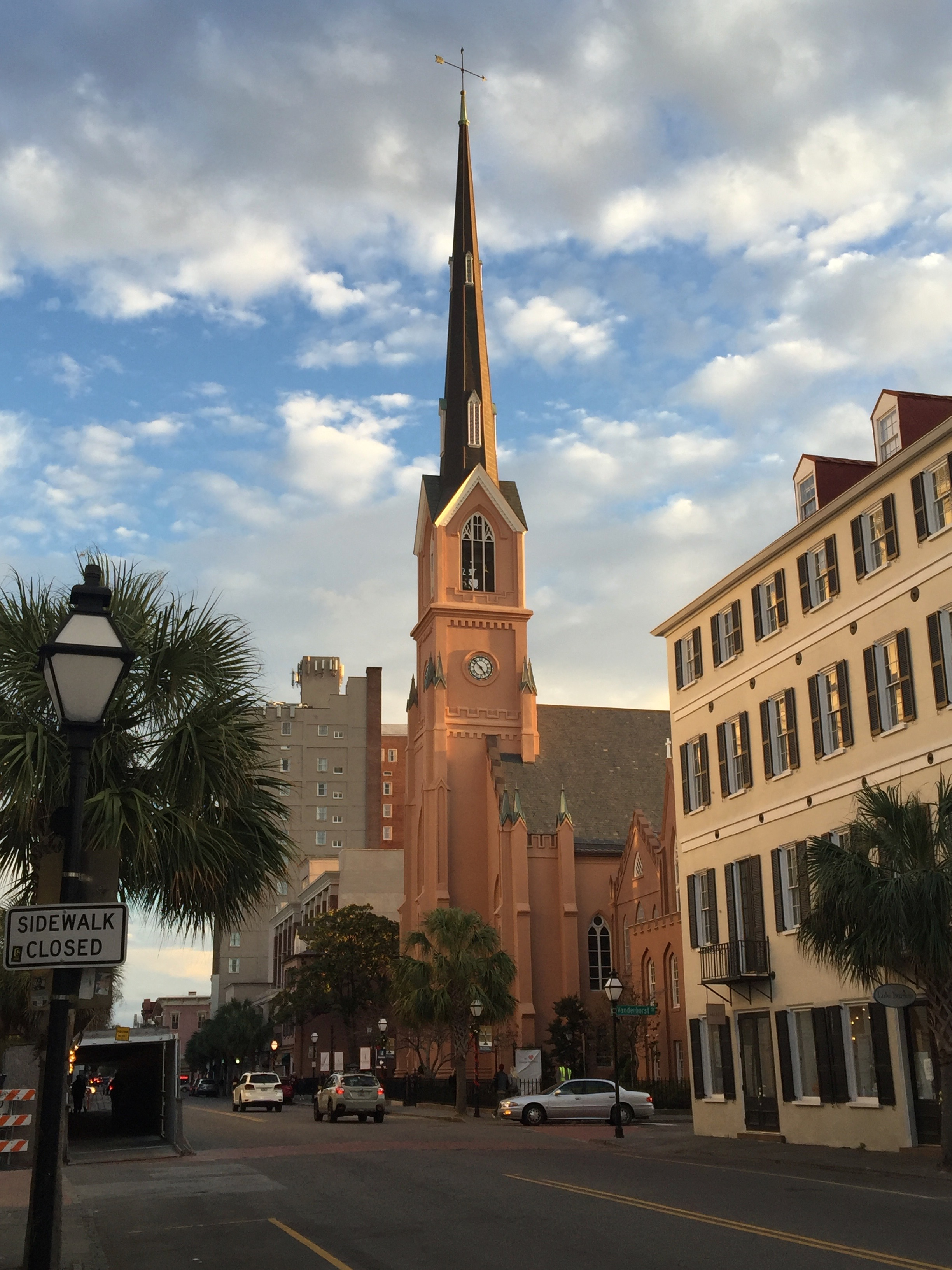 St. Matthew's Lutheran Church on King Street.