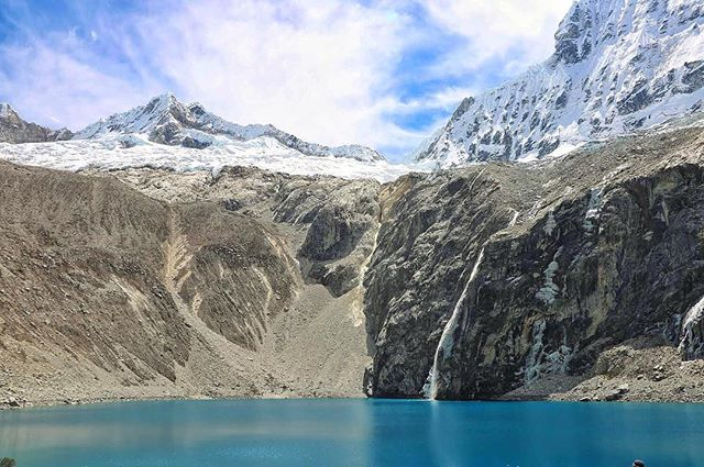 LAGUNA 69 // HUASCARÁN NATIONAL PARK, PERU 🇵🇪 *** This wasn't the first time and most certainly won't be the last time that I've seen a picture of unbelievably blue water up against insanely beautiful mountains and knew I had to go there. *** To be clear, I didn't just add it to the ever changing and growing bucket list. I literally went there and saw it with my own two eyes and it was just as gorgeous in person as it was in the photos I first saw of it. *** What have you added to your bucket list? What's stopping you from going there?