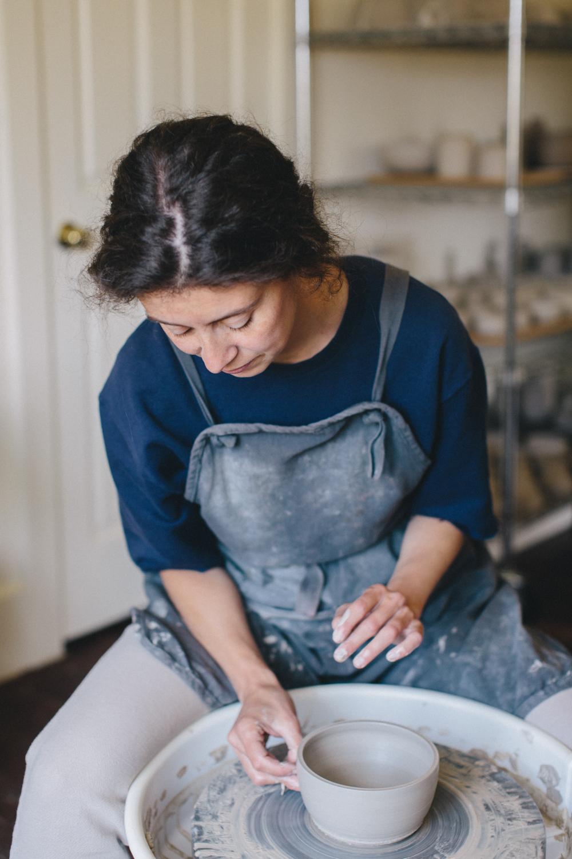 Julie Cloutier Ceramics San Francsico Rachelle Derouin Photography-2.jpg