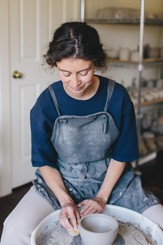 Julie Cloutier Ceramics San Francsico Rachelle Derouin Photography-7.jpg