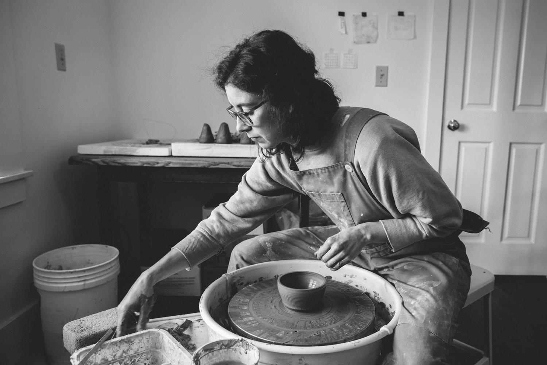 Julie Cloutier Ceramics San Francsico Rachelle Derouin Photography-10.jpg