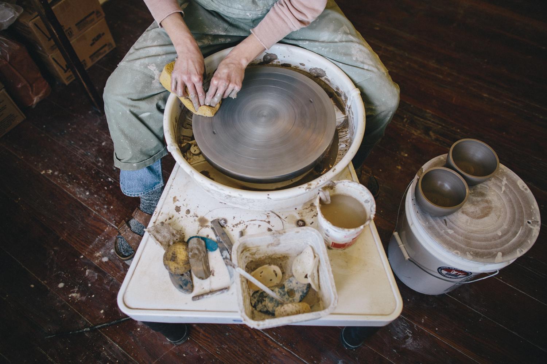 Julie Cloutier Ceramics San Francsico Rachelle Derouin Photography-9.jpg