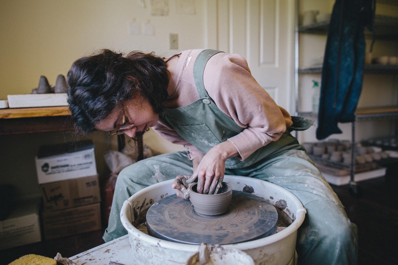 Julie Cloutier Ceramics San Francsico Rachelle Derouin Photography-15.jpg