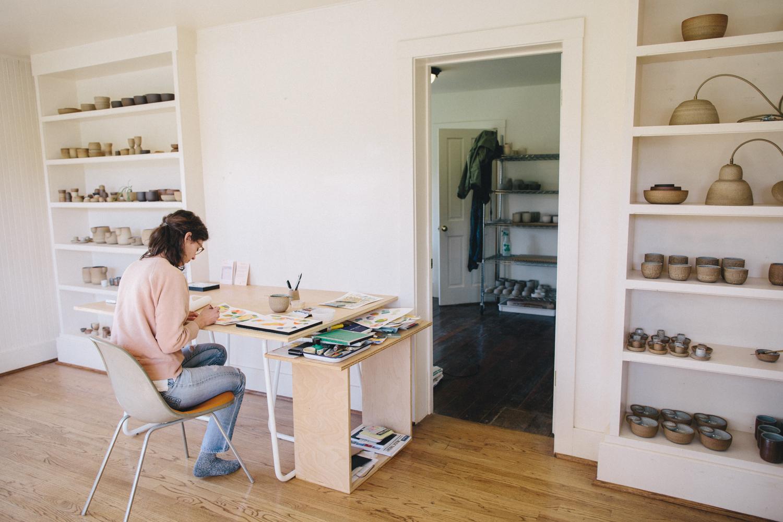 Julie Cloutier Ceramics San Francsico Rachelle Derouin Photography-18.jpg