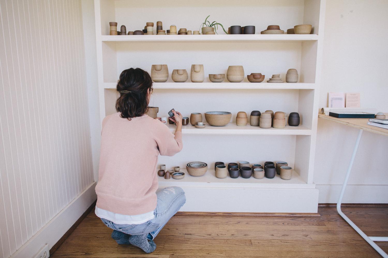 Julie Cloutier Ceramics San Francsico Rachelle Derouin Photography-21.jpg