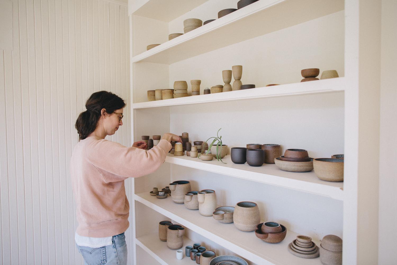 Julie Cloutier Ceramics San Francsico Rachelle Derouin Photography-24.jpg