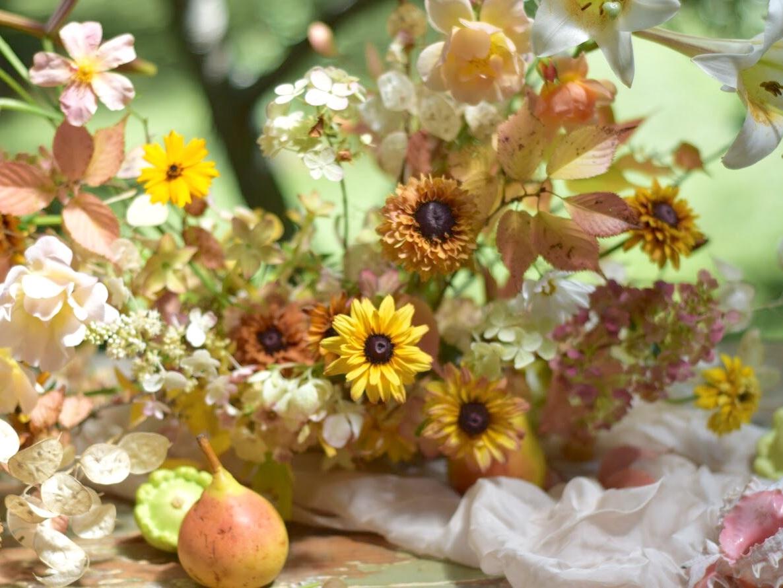 Alice+Beasley+flowers+event+flowers+summer+rudbeckia