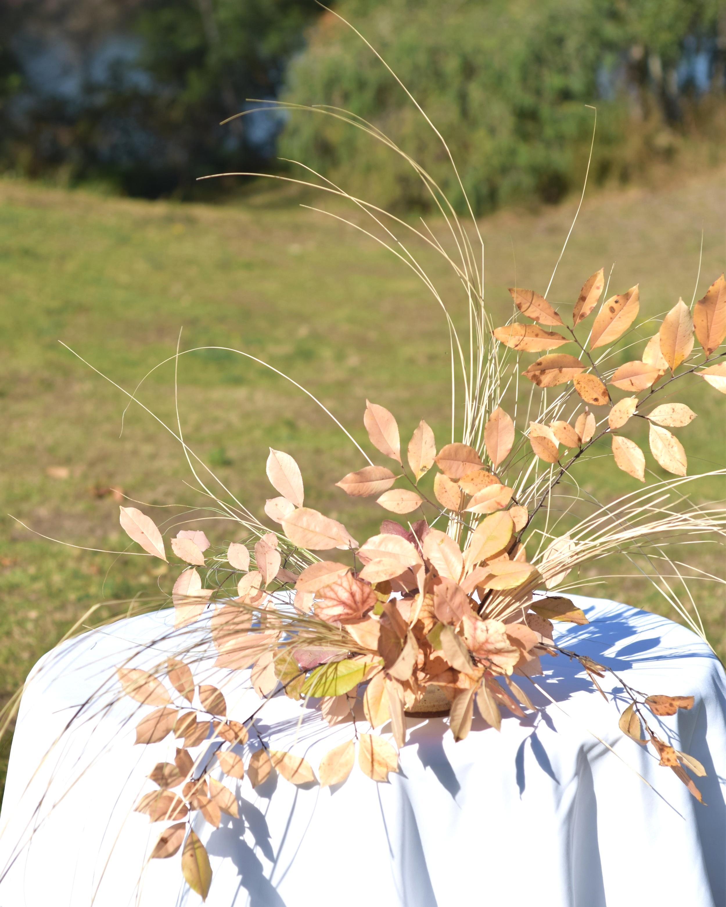 Alice Beasley flowers autumn wedding flowers sydney wedding florist