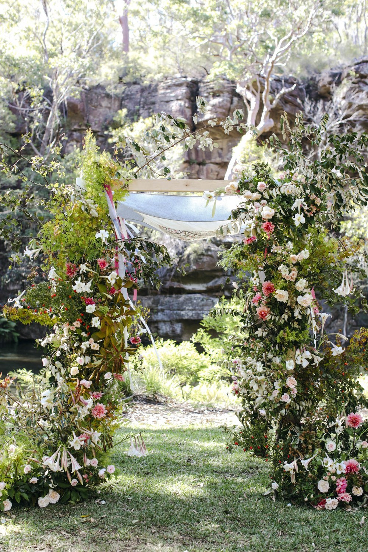 alice beasley flowers autumn wedding floral installation
