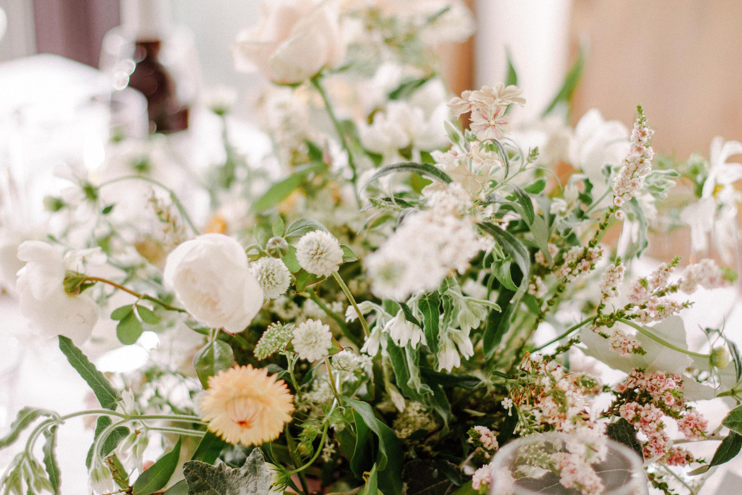 sydney beach wedding. textural and romantic wedding flowers. native australian bridal bouquets