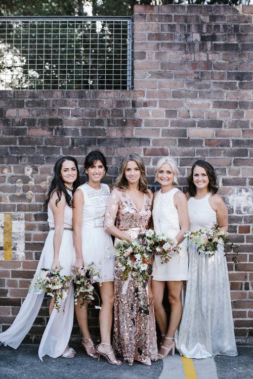 Terracotta and earth tone bridal bouquets. Australian native wedding flowers