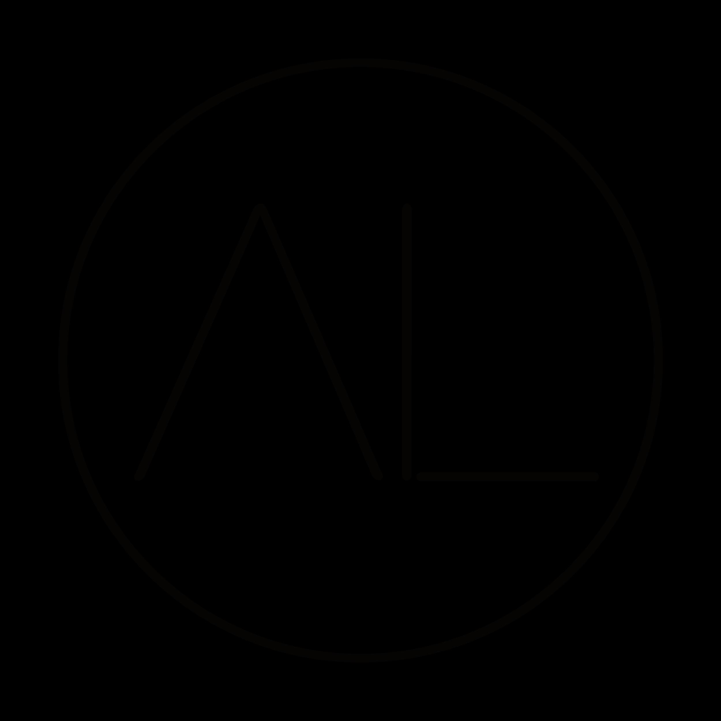 Amanda Louis Black Circle Logo.png