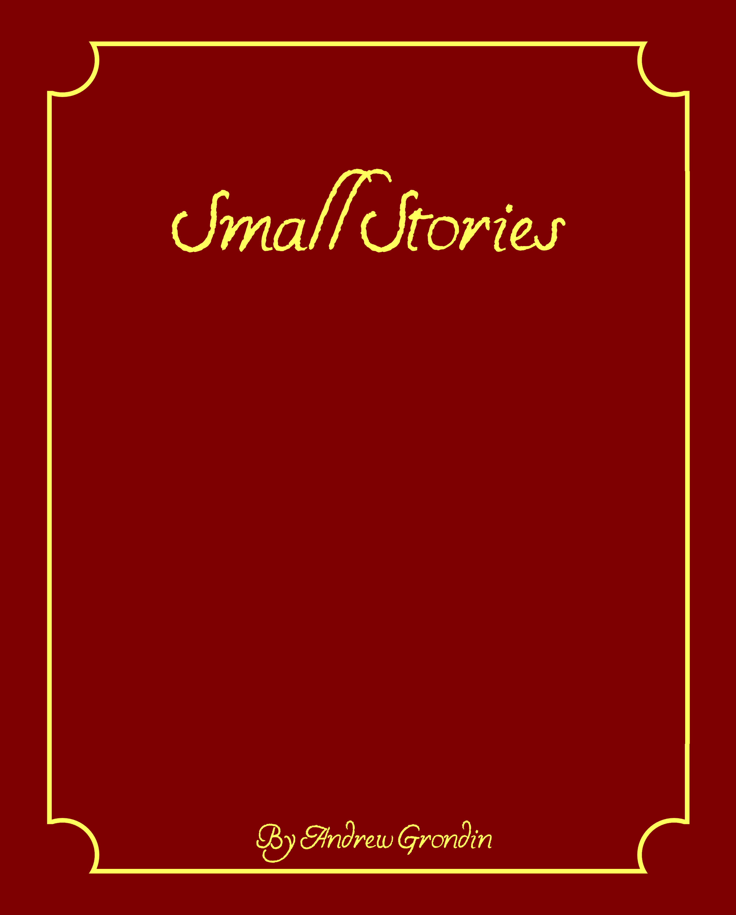 Small Stories Cover