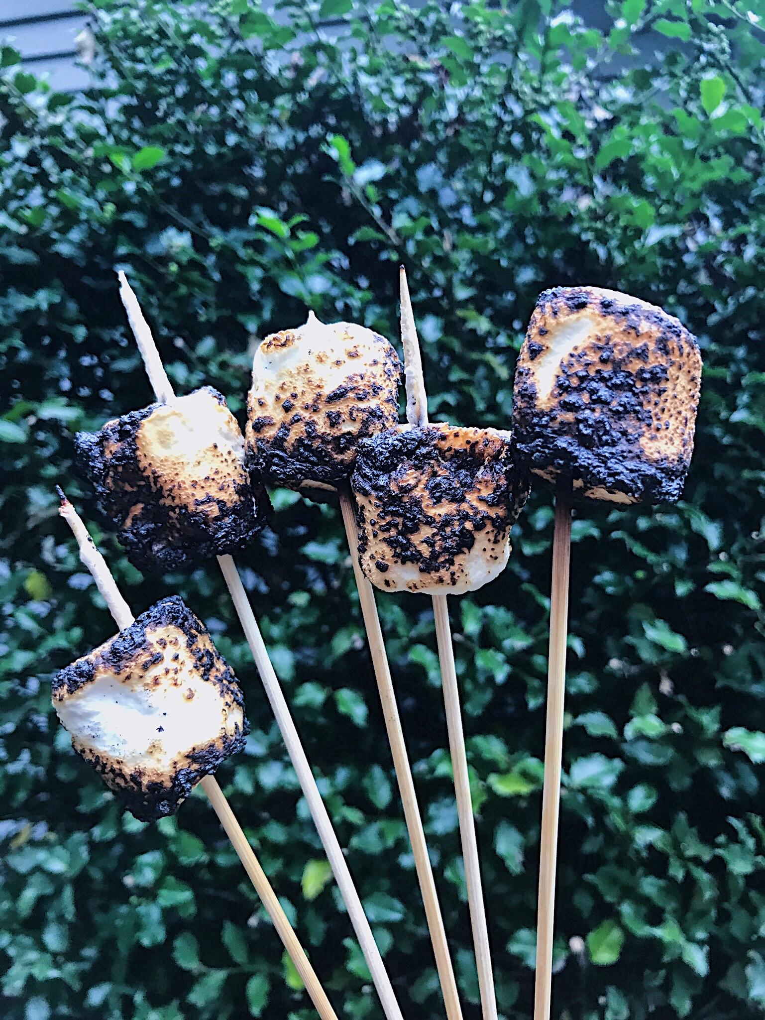Toasted marshmellows