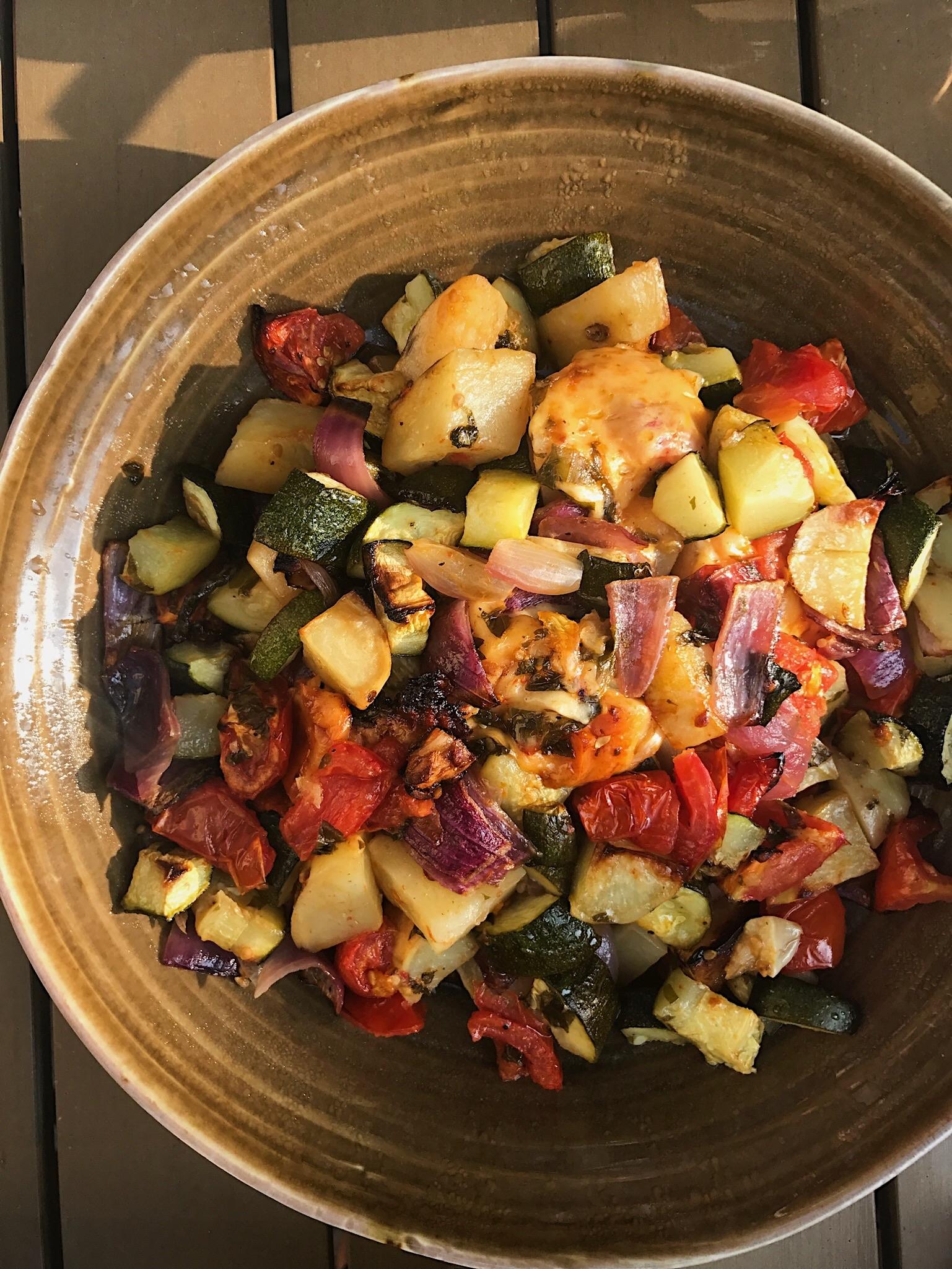 potato tomato zucchini
