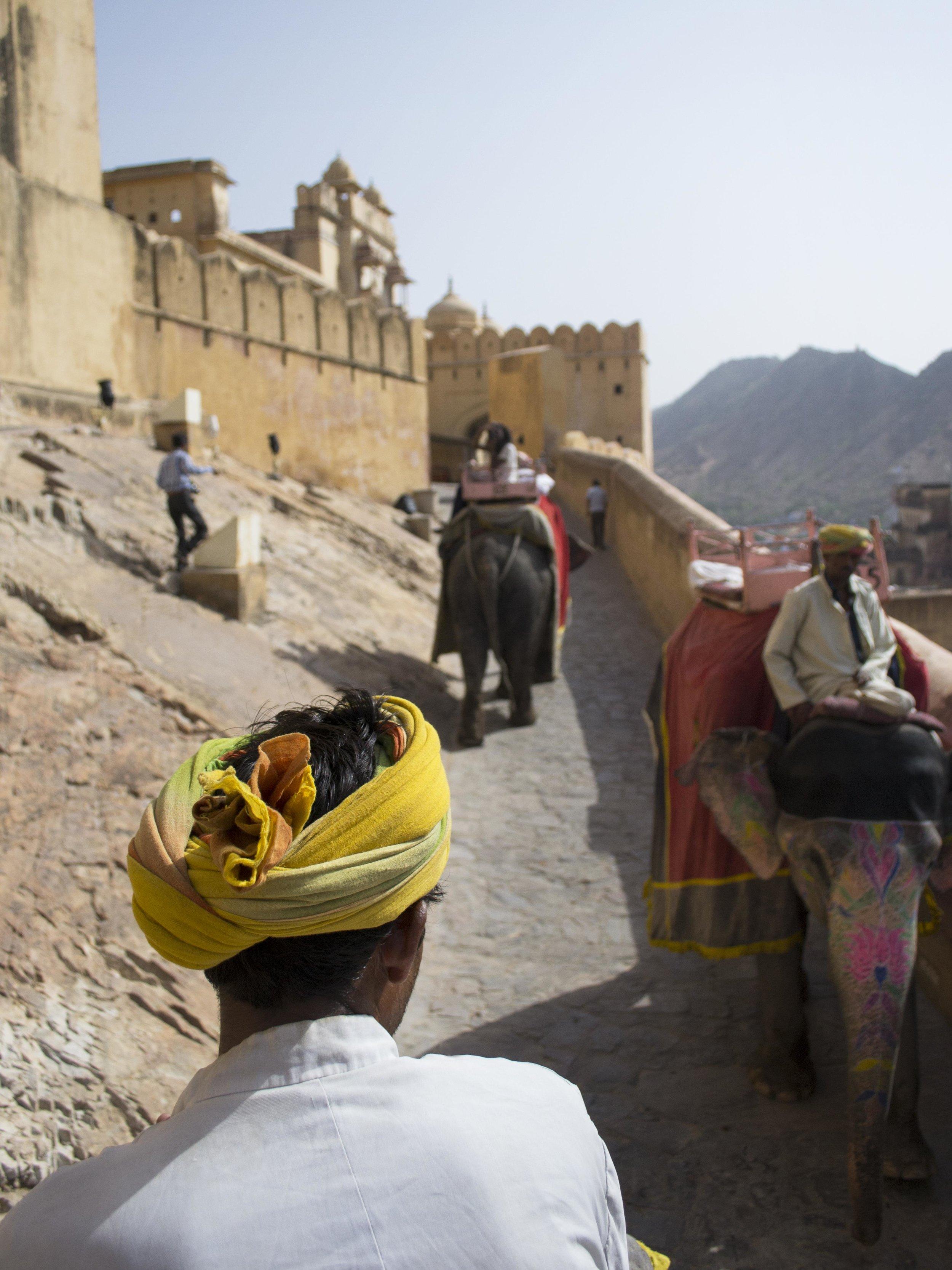Amber Fort in Jaipur, India, 2012