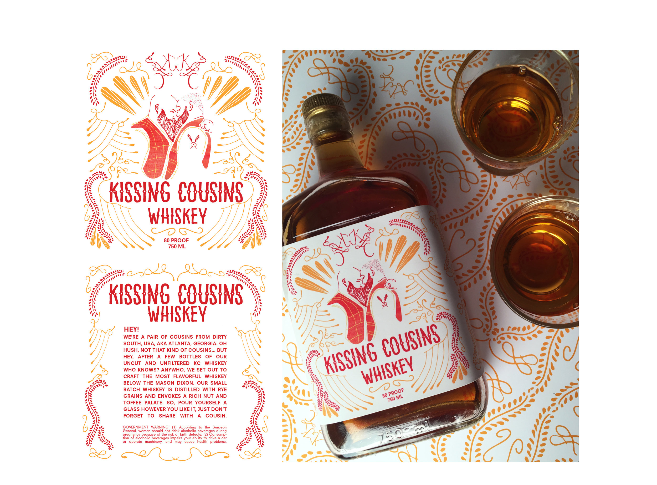 Kissing Cousins Whiskey