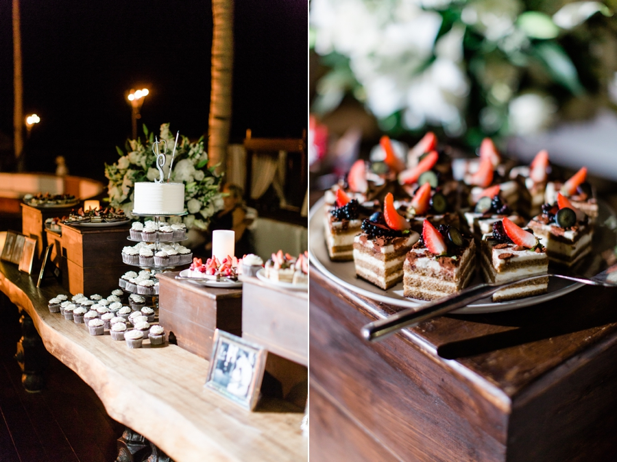 dessert table at mexico wedding