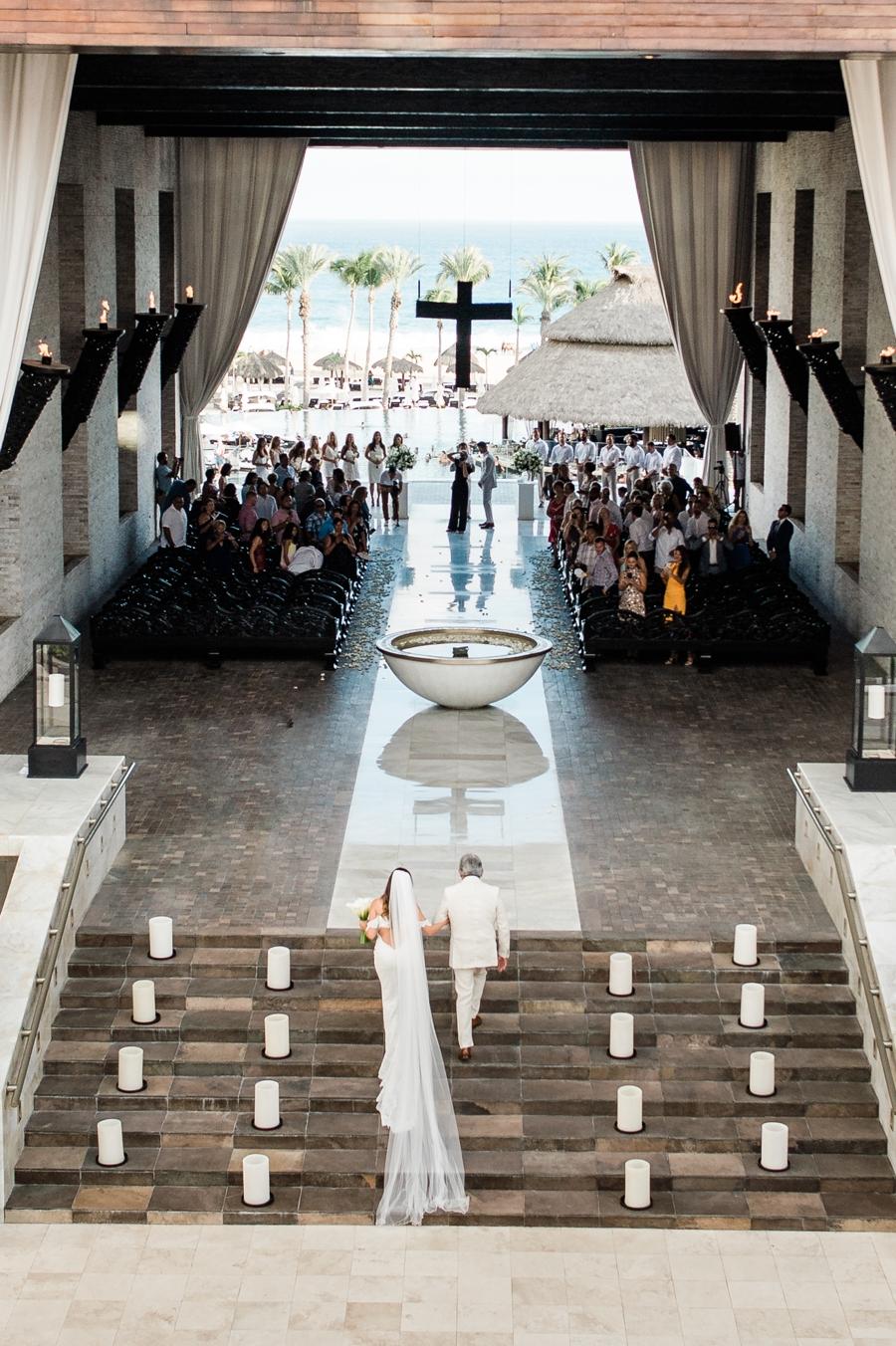 Cabo Azul Resort wedding ceremony