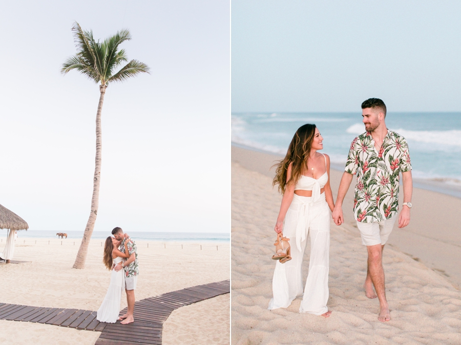Beach bride style