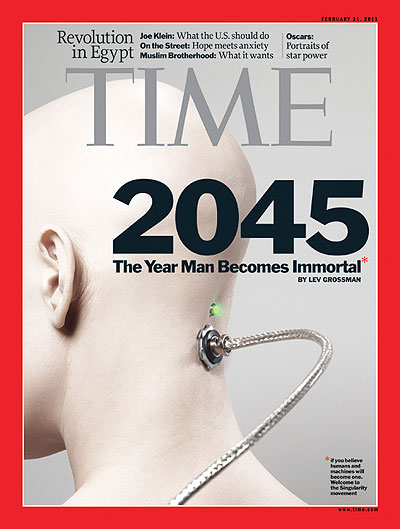 2045 The Year Man Becomes Immortal