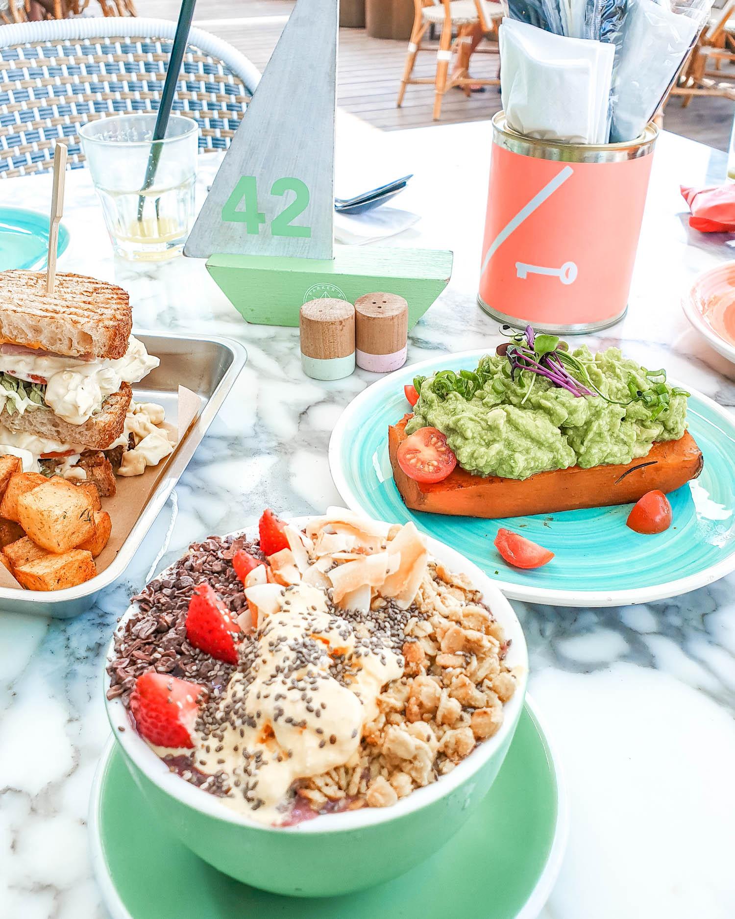 Parker's Dubai La Mer Breakfast Gluten Free