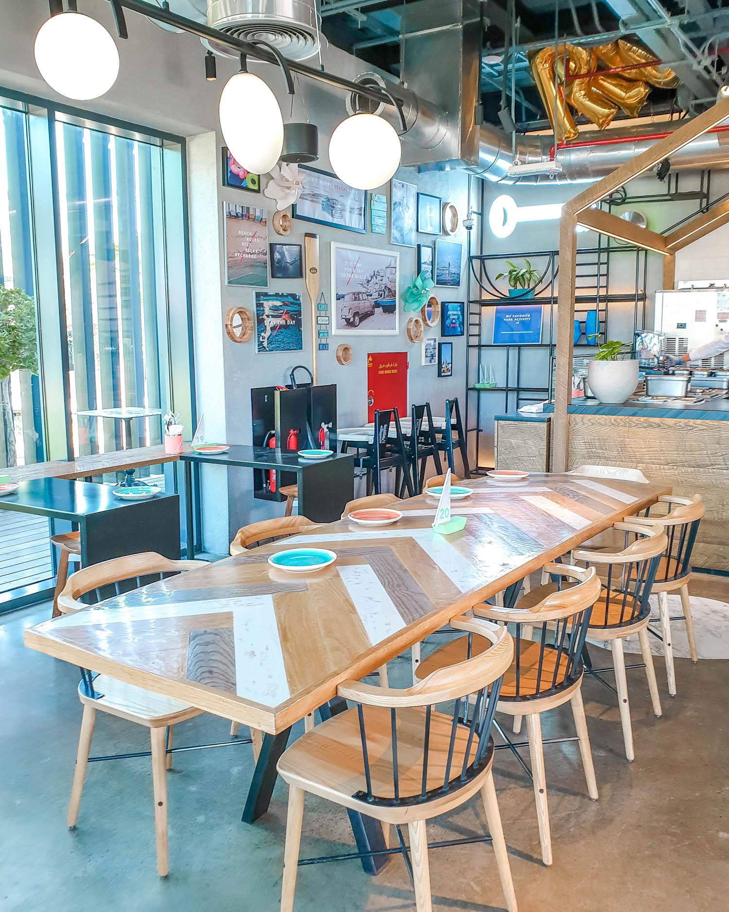 Parker's Dubai La Mer Interiors