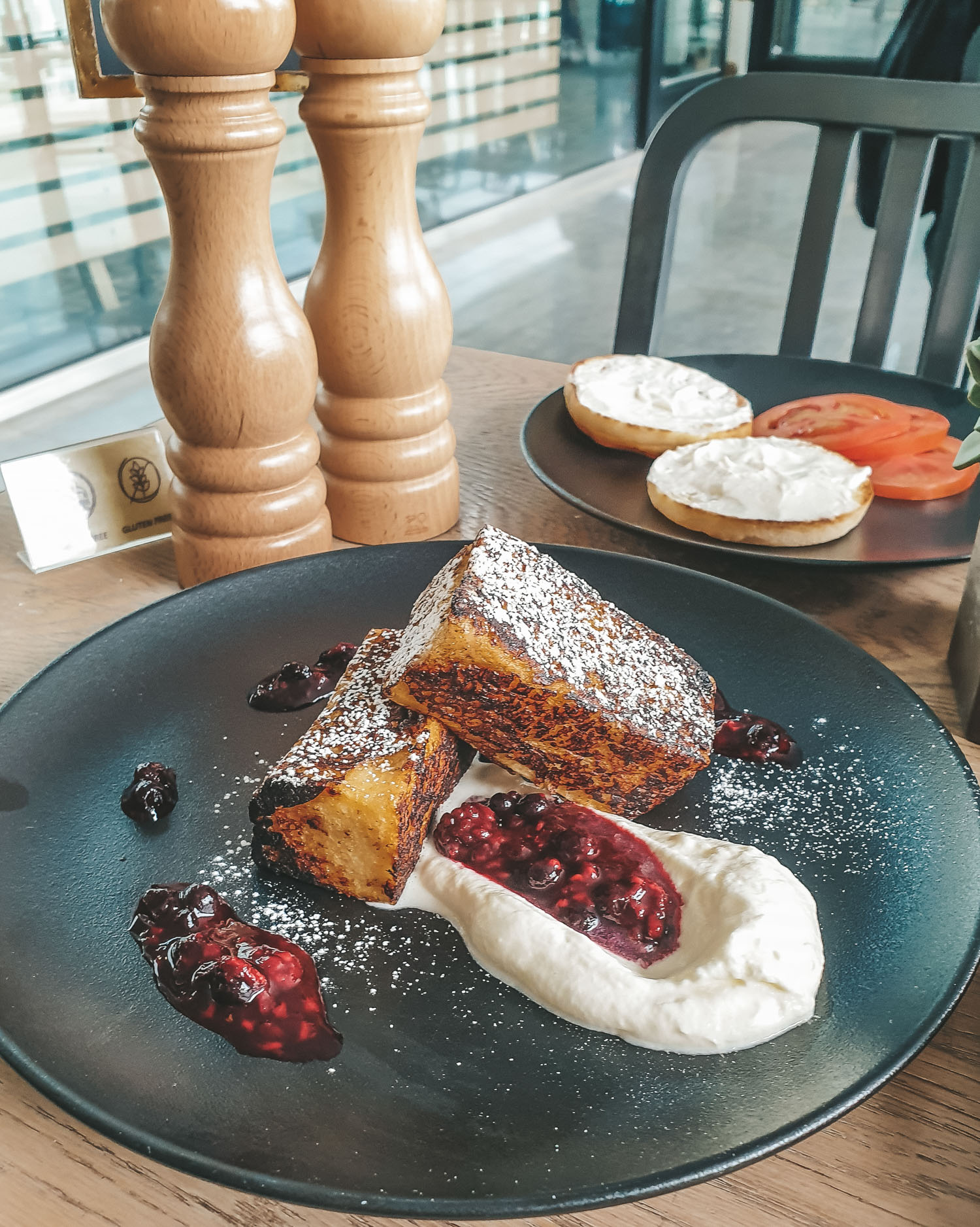 Tawa Bakery 100% gluten-free restaurant in Abu Dhabi french toast