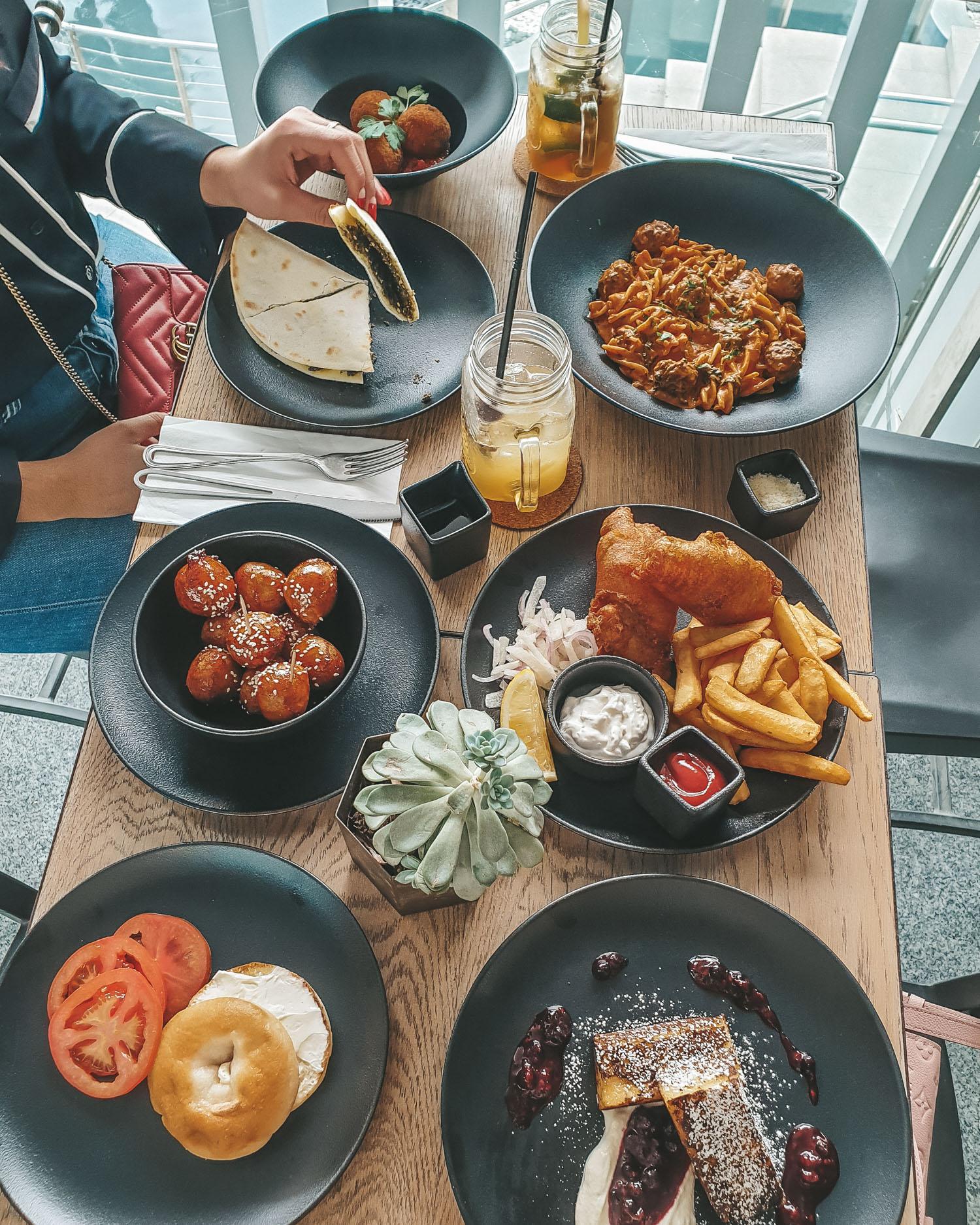 Tawa Bakery gluten free lunch in Abu Dhabi