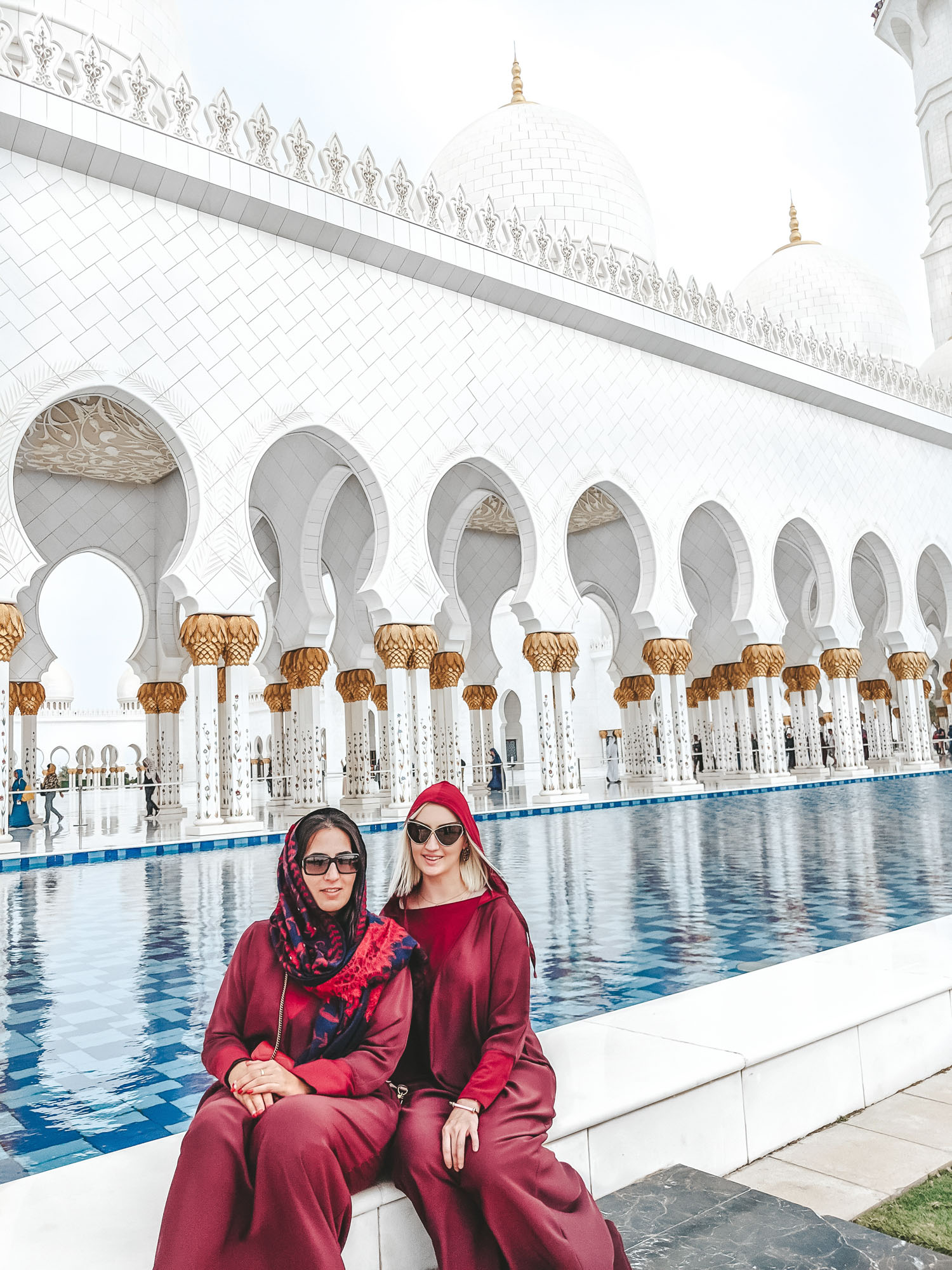 Sheikh Zayed Grand Mosque | Day trip to Abu Dhabi from Dubai